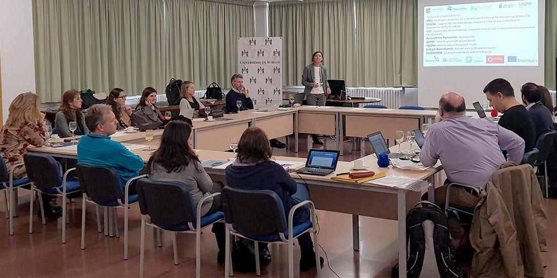 Reunión de trabajo de Euroddip-e