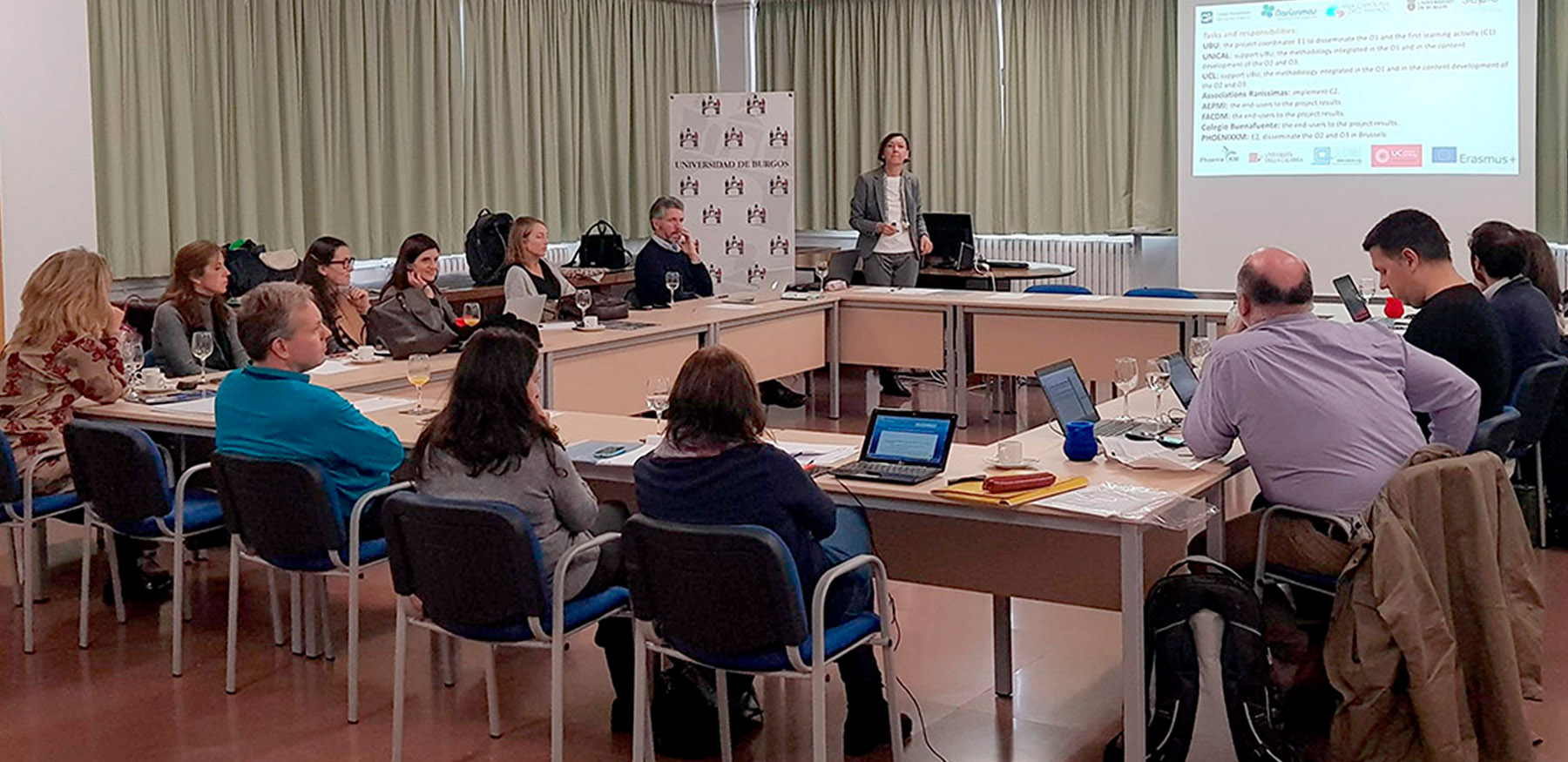 Kickoff Meeting, Burgos. 11-2018 - Presentation