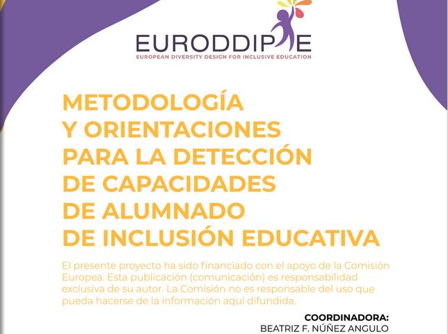 Documento de metodología y orientaciones para la detección de capacidades del alumnado